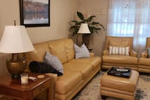 Relax in the spacious living/front room, which opens directly into the kitchen
