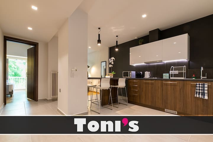 Toni's - Prime apartment in City Center