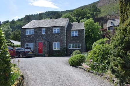 Private, comfortable apartment with Skiddaw View
