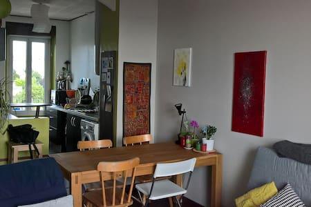 Chambre, appart cosy vue mer - Brest - Apartemen