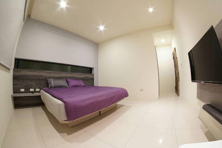 簡約風的雙人日租套房,澎湖馬公旅遊,輕裝旅行,平價住宿 - Magong City - Muu