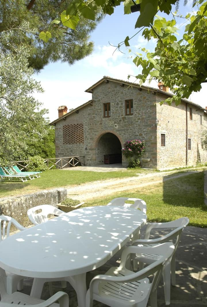 RONDINI. Beautiful Apartment in Tuscan Farmhouse