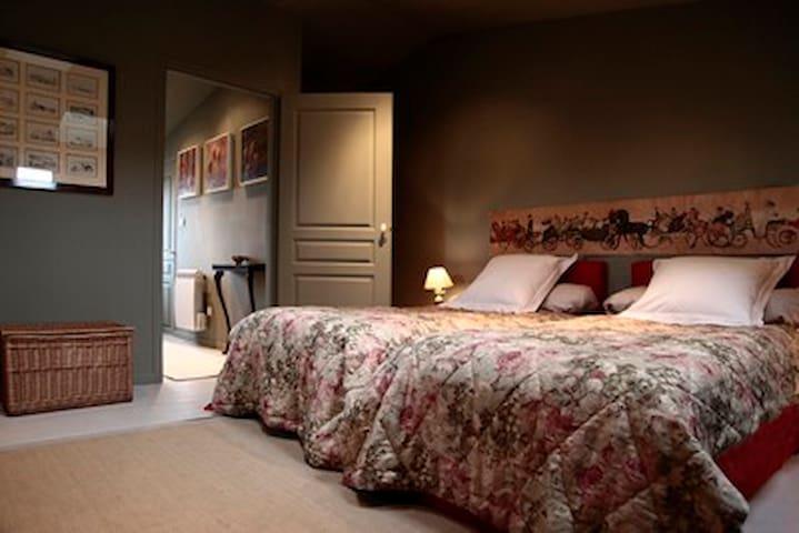 "Chambre ""Frise"" - Saint-Thibéry - Bed & Breakfast"