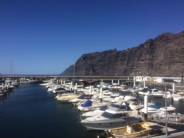 LOS GIGANTES Marina with great waterfront views