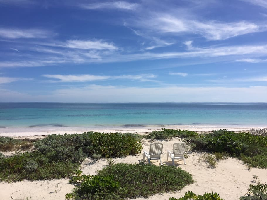300 feet of pristine private beach on the atlantic ocean
