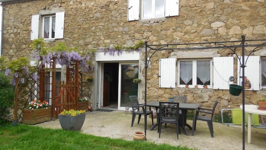 Maison de village en pierre - Ardoix - Casa