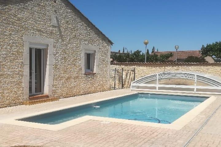 Agréable maison de 90m²  avec piscine privée
