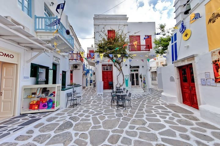 Grandma's Traditional House in Mykonos town