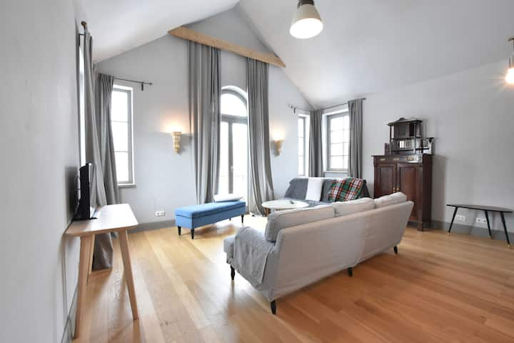 Charming Apartment in Detershagen with Private Terrace
