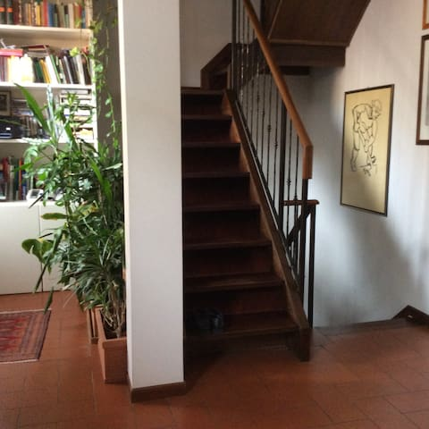 Single Room #1 in historical centre (with kitchen) - Mantova - Casa