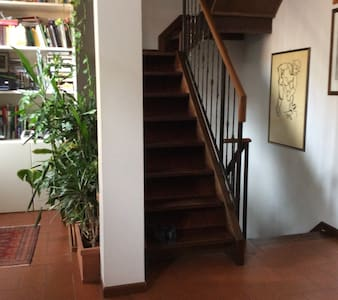 Single Room #1 in historical centre (with kitchen) - Mantova - Hus