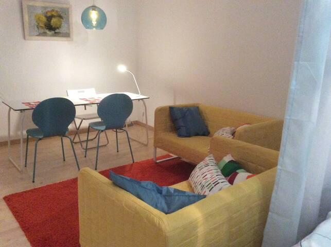 45qm Apartment Würzburg Heidingsfeld WiFi Balcony