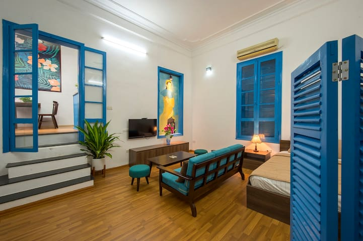 Lagom - 5BR with rooftop in central Hanoi