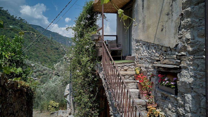 Top-quality apartment in tranquil village setting