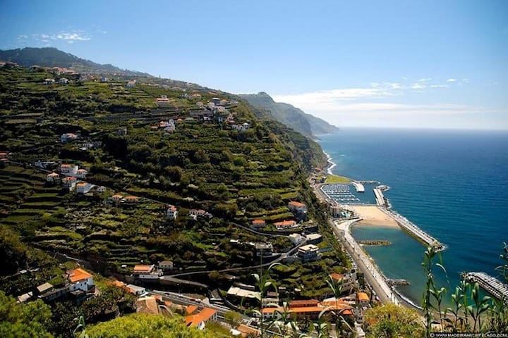 View of Calheta Beach
