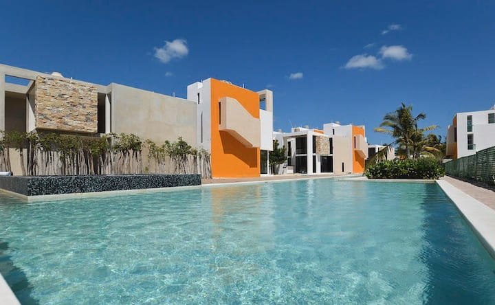Antálea Villa 40 y Club de Playa, Telchac Puerto