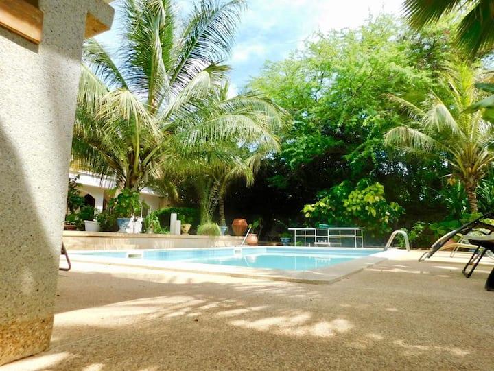 Chez JMN à Warang Sénégal  150 m de la plage