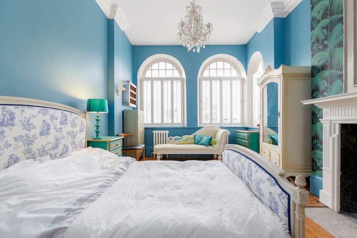 """""""My room was on the 1st floor, it was delightfully and thoughtfully furnished as is the entire house. The room was spacious and extremely clean."""" - Sonja, Glasgow"""