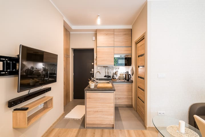 Modern Studio in City Center - Breslávia - Apartamento
