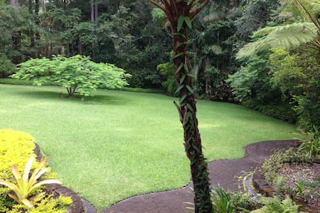 Retreat style home in the rainforest near Buderim - Tanawha