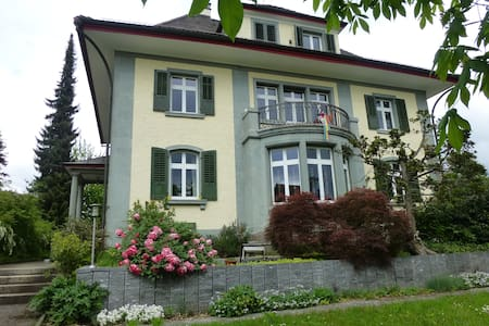 Villa des Roses, grünes Zimmer - Wetzikon - Villa