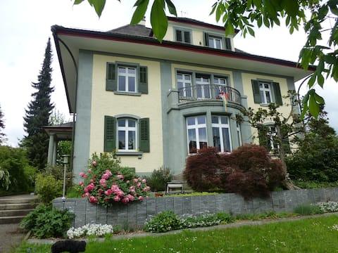 Villa des Roses, grünes Zimmer
