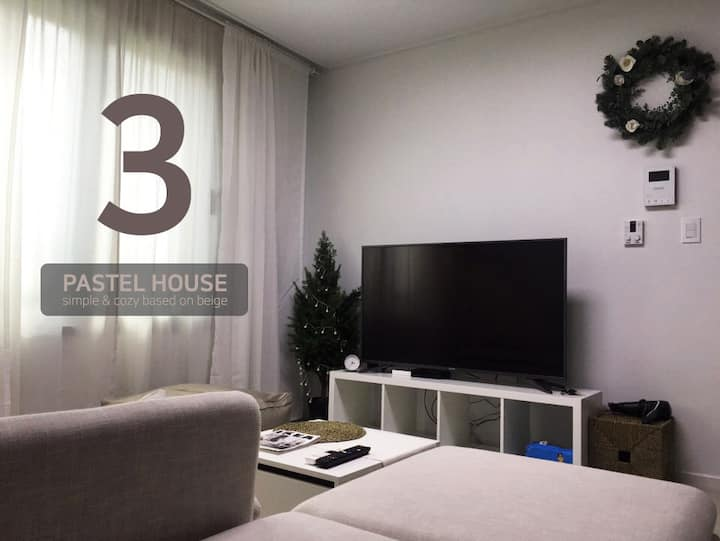 [V3]3Beds: Clean&Comfortable Apt in Suwon(SAMSUNG)