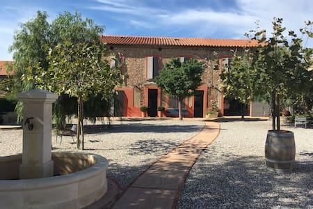 Grande maison pleine de charme - 13 personnes - Ortaffa