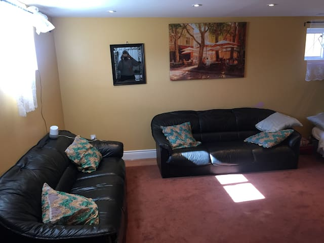 Extended big living area