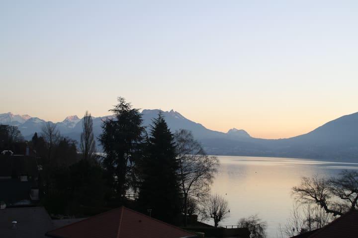 Appartement avec la plus belle vue - Veyrier-du-Lac - Flat