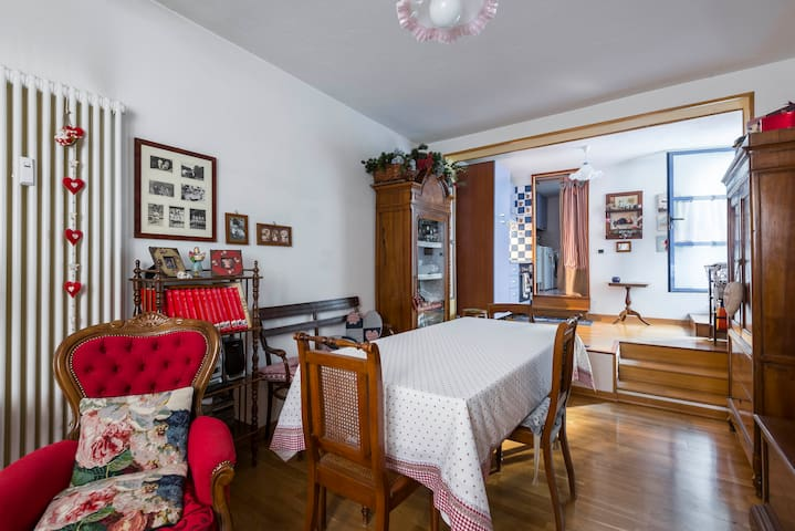 Country loft in centro storico