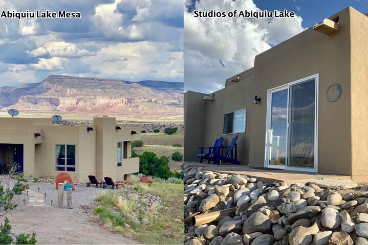 Abiquiu Lake Mesa Home PLUS Separate Guest Suite.