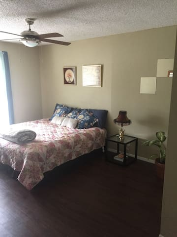 Private, Spacious Room w Bathroom in South Central - Austin - Apartament