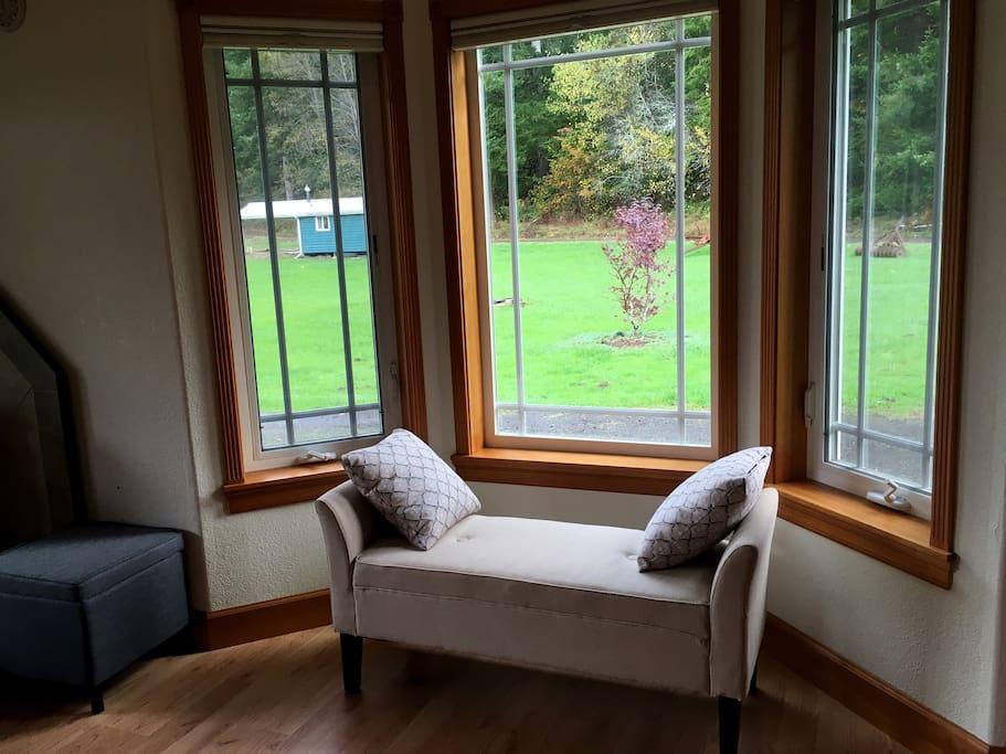 Sweet windowseat.