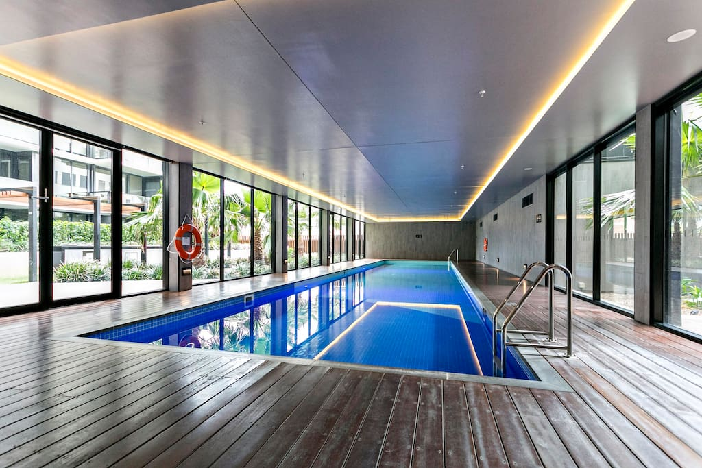 Pool and gym for your use!