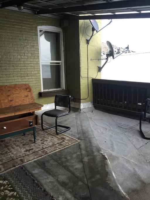 common area - porch