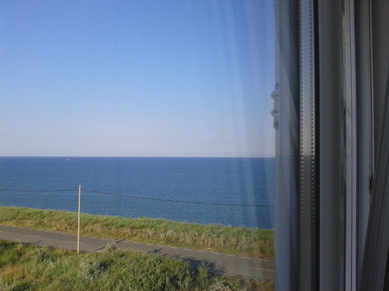 The view from the bedroom