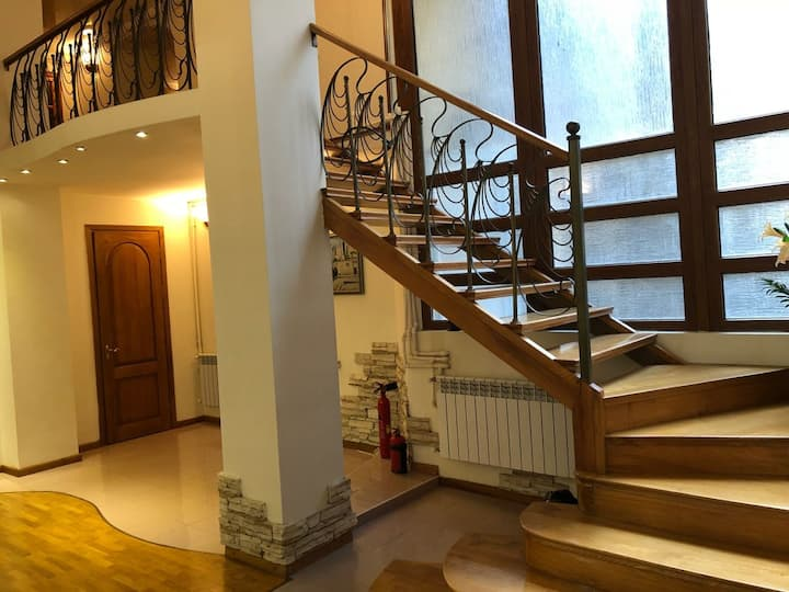 2-store apartment in Baku city center