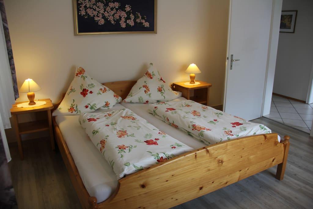 Wohnung bietet Platz bis zu 4 Personen