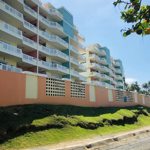 Beachfront buildings at Isabela Beach Court