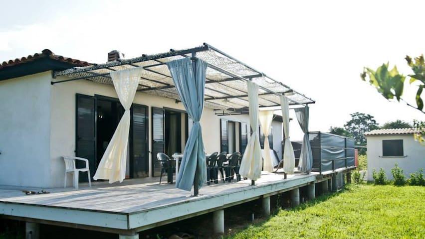 Villa cosy & jacuzzi - San-Nicolao - บ้าน