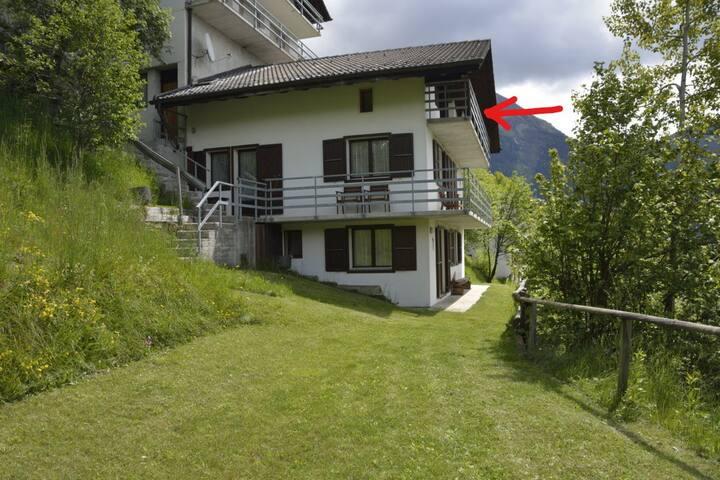 Chiara's Mountain Home: apartment Pizzo Forno