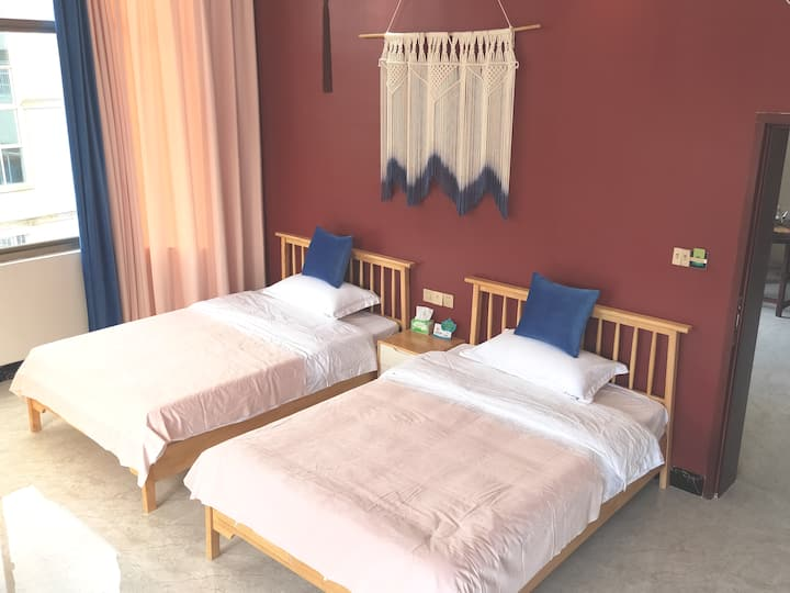 湄洲岛『彼◎岸』北欧轻奢2房1厅(双床)