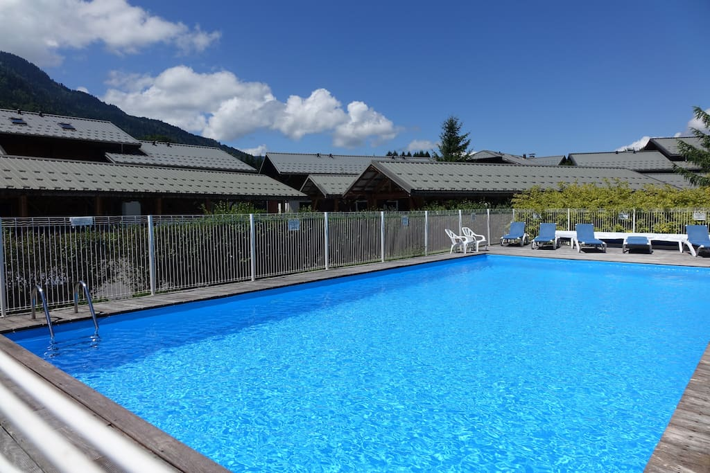 Heated Open Air Heated Pool Open in the Summer Season with Sun Loungers, Showers & Changing area.