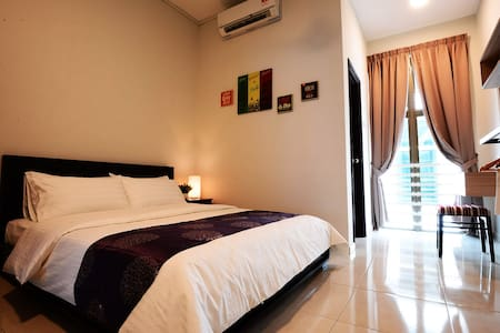 The Bliss Malacca Queen Bedroom - Melaka Tengah - Huis