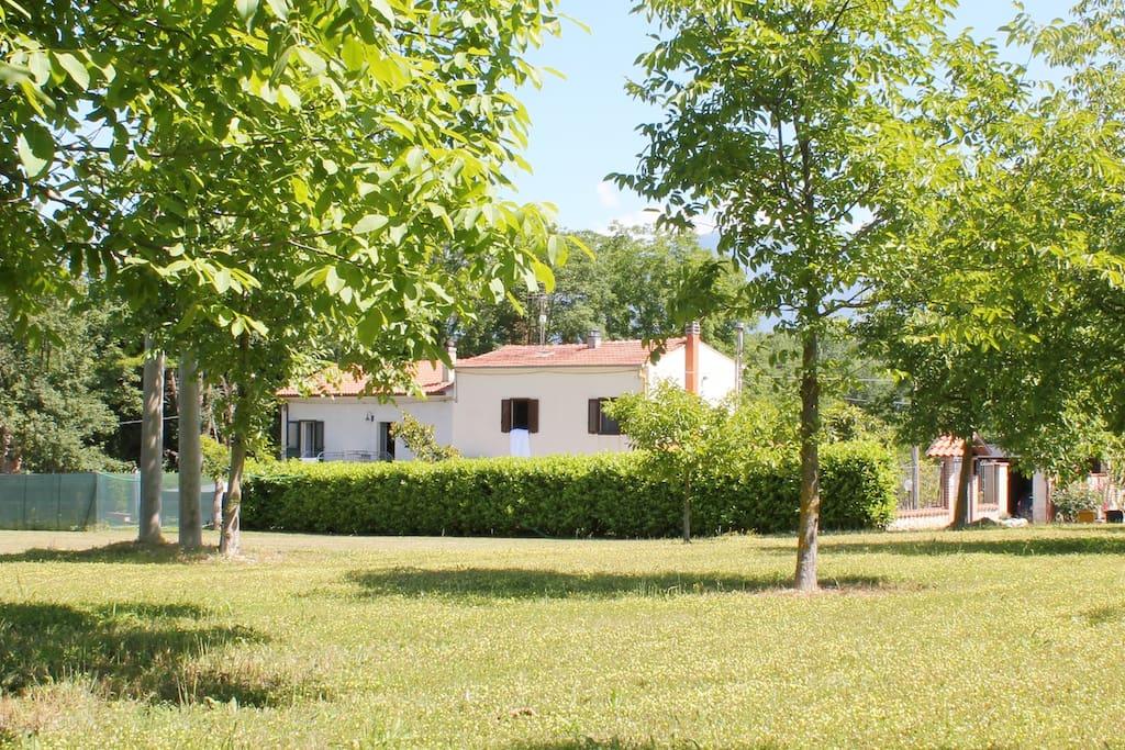 Villa Ulignano from our 'picnic area'