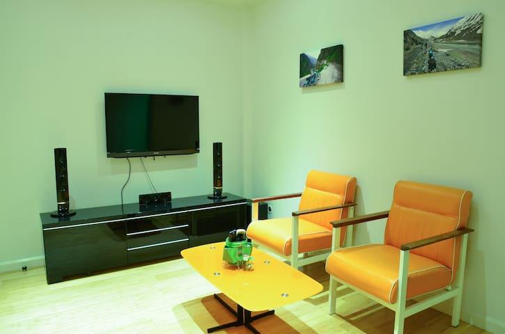 Bright 1BR Private Apartment Maderla Lumpini - Bangkok - Guesthouse