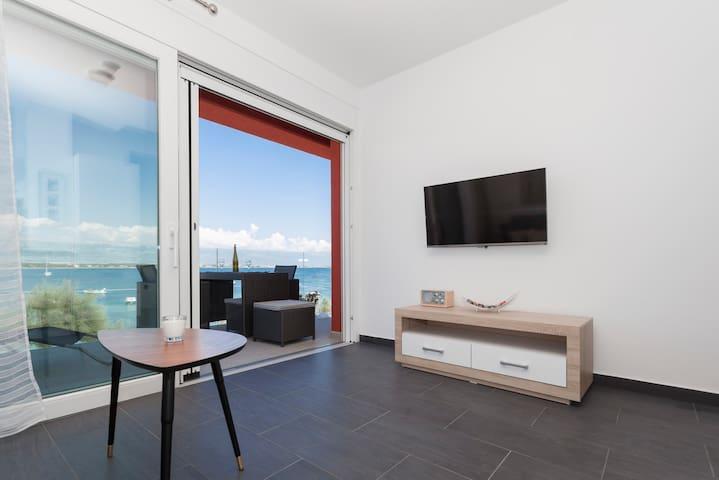 Apartment Toni III, 3*, mit Meerblick - Vir - Dom