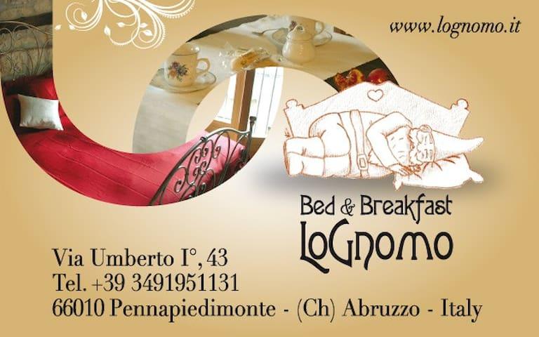 """B&B di Charme """" Lo Gnomo"""" - Pennapiedimonte - Ch - Pennapiedimonte - Bed & Breakfast"""
