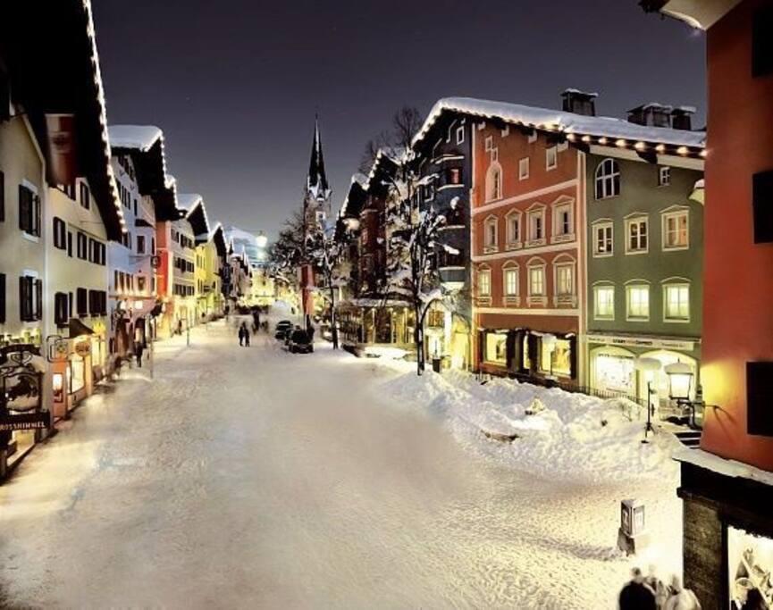 Kitzbühel im Winter